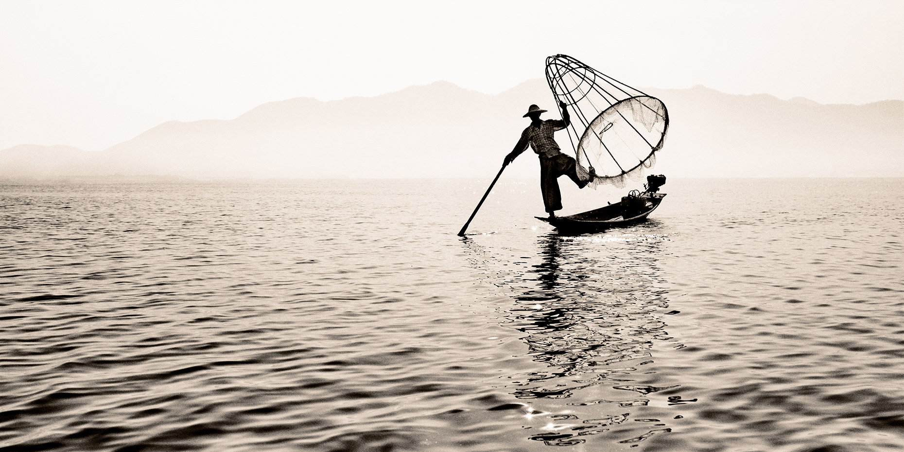 inle lake fisherman