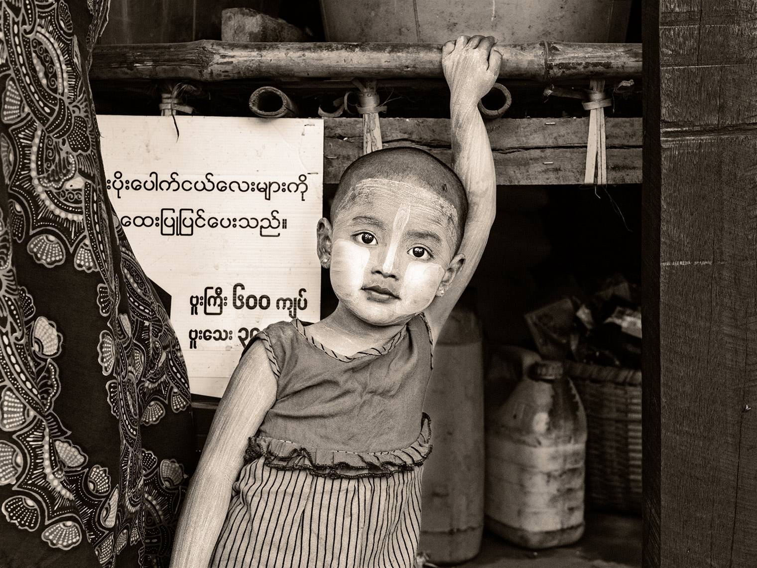 myanmar-girl with blue dress