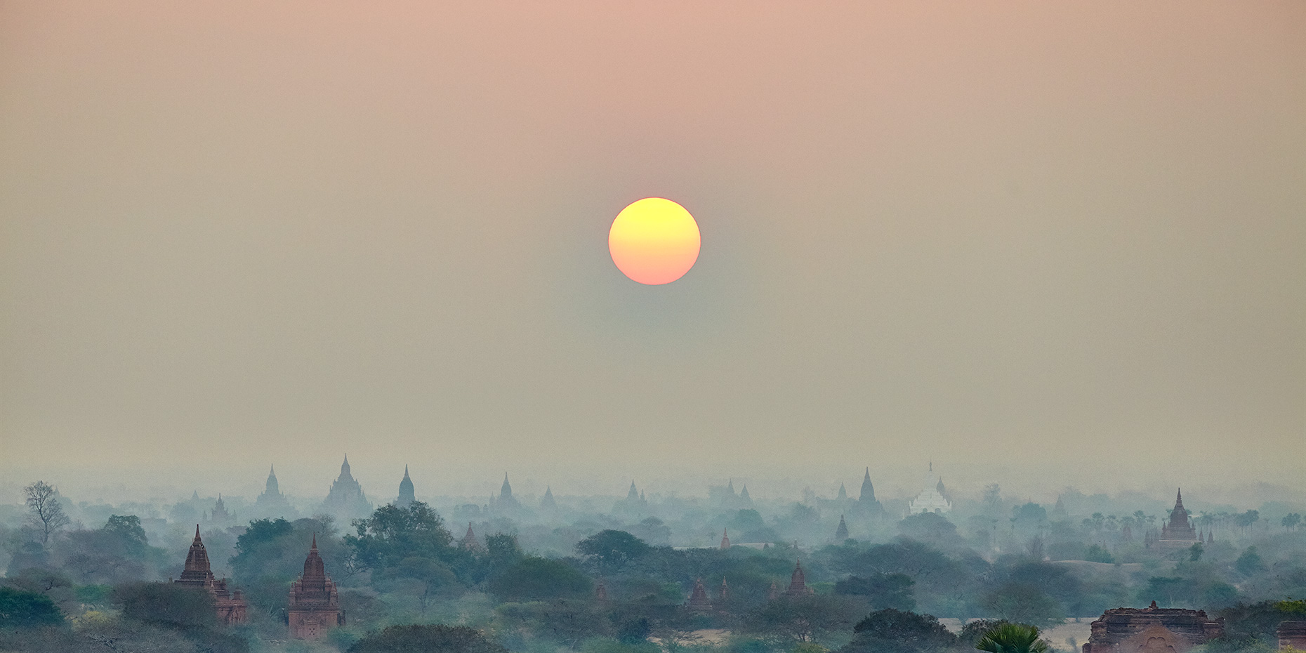 myanmar pagan sunrise